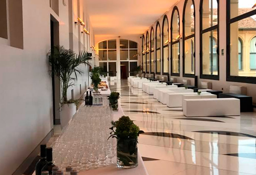cantun banqueting catering business palazzo stelline milano
